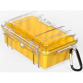 Peli MicroCase 1050 - Boîte - jaune/transparent